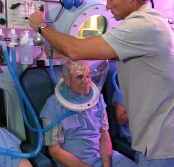 Hyperbarics can help with delayed radiation damage.
